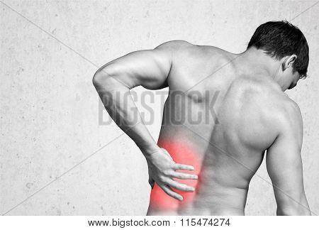 Backache.