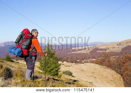 Hiking.