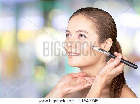 Make-up.