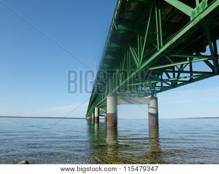 Bridge underside
