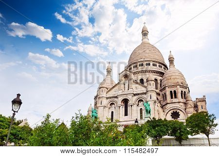 Cupolas of the  Sacred Heart, Paris, France