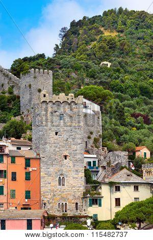 Cityscape Of Portovenere - Liguria Italy