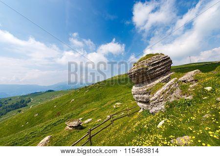 Karst Erosion Formations - Lessinia Italy