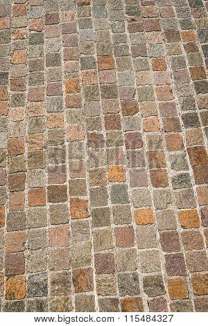 Porphyry Stone Floor - Sanpietrini Or Sampietrini