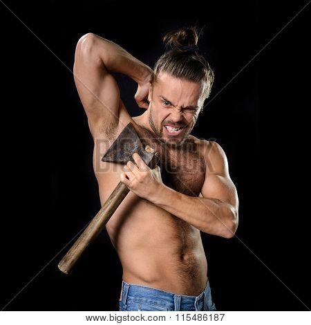 Hygiene axe man