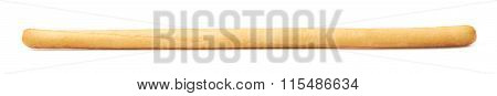 Single bread stick isolated
