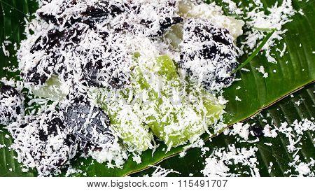 Rice Flour Custard Dessert