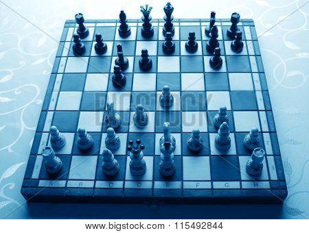 Sicilian Defense In Chess Game