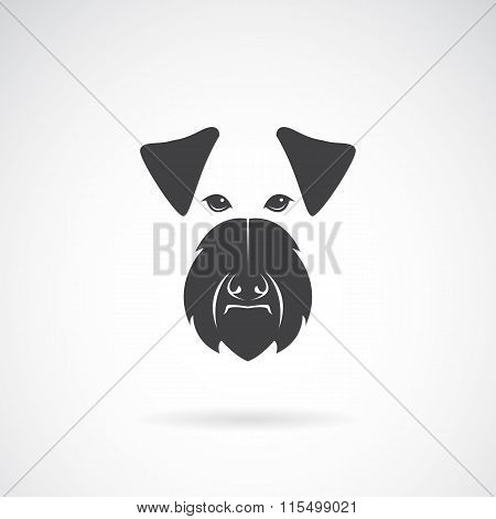 Vector Image Of An Dog (irish Terrier) On White Background