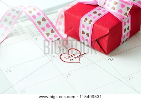 Valentine's day night date