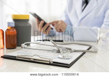 Doctor Working