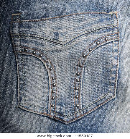 jeans hip pocket