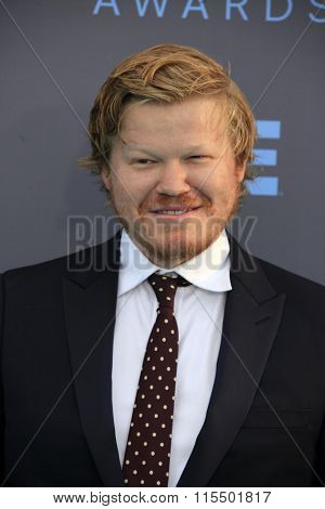 LOS ANGELES - JAN 17:  Jesse Plemons at the 21st Annual Critics Choice Awards at the Barker Hanger on January 17, 2016 in Santa Monica, CA