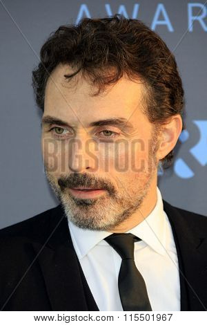 LOS ANGELES - JAN 17:  Rufus Sewell at the 21st Annual Critics Choice Awards at the Barker Hanger on January 17, 2016 in Santa Monica, CA