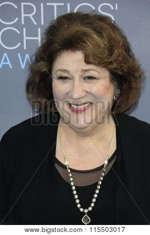 LOS ANGELES - JAN 17:  Margo Martindale at the 21st Annual Critics Choice Awards at the Barker Hanger on January 17, 2016 in Santa Monica, CA