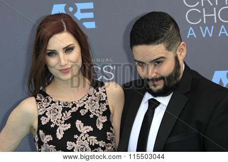 LOS ANGELES - JAN 17:  Steve Zaragoza at the 21st Annual Critics Choice Awards at the Barker Hanger on January 17, 2016 in Santa Monica, CA