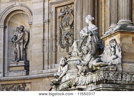 Architectonic detail, Paris