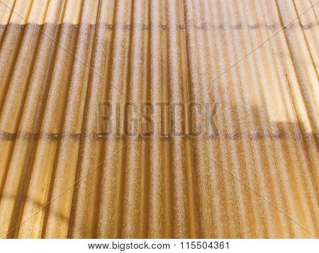Retro Looking Corrugated Plastic