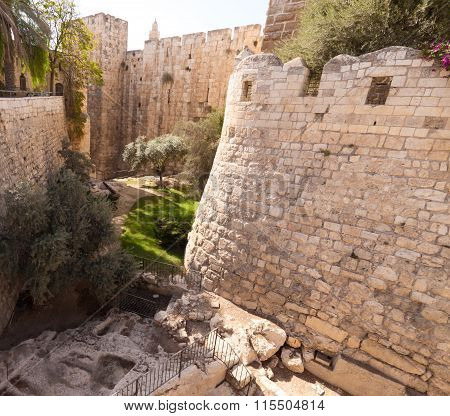 Moat Tower Of David