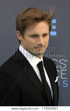 LOS ANGELES - JAN 17:  Bradley James at the 21st Annual Critics Choice Awards at the Barker Hanger on January 17, 2016 in Santa Monica, CA