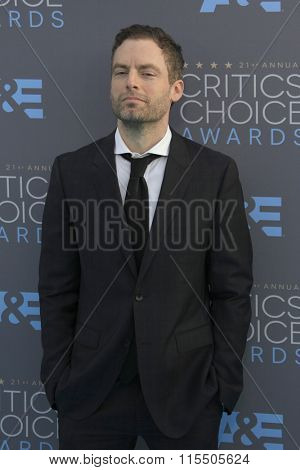 LOS ANGELES - JAN 17:  Justin Kirk at the 21st Annual Critics Choice Awards at the Barker Hanger on January 17, 2016 in Santa Monica, CA