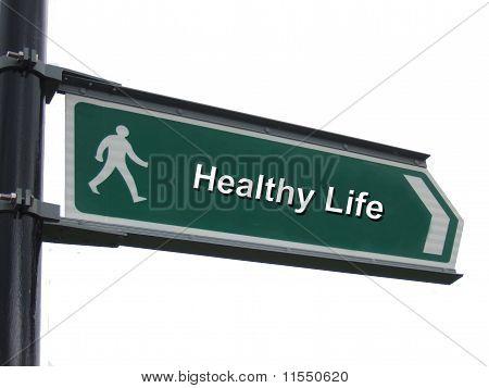 Signo de vida sana