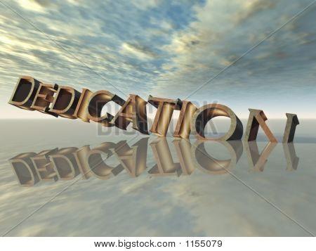 Dedication (Cg)