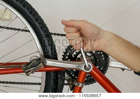Bicycle Pedal Repairing