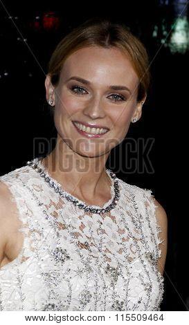 Diane Kruger at the Los Angeles Premiere of