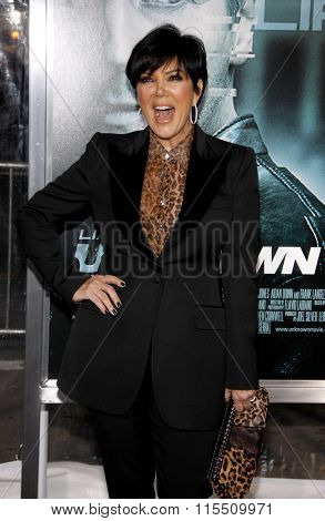 Kris Jenner at the Los Angeles Premiere of