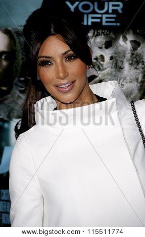 Kim Kardashian at the Los Angeles Premiere of