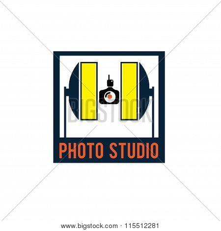 Photo Studio Vector Design Template