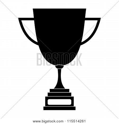 Goblet black simple icon