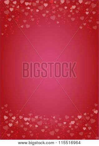 Red-hearts-love-background