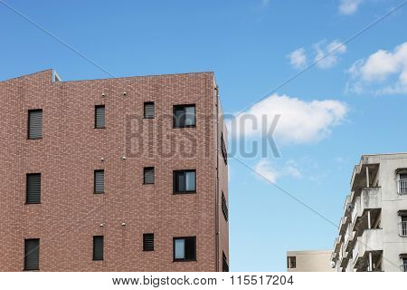 Modern Apartment Or Condominium Building Exterior