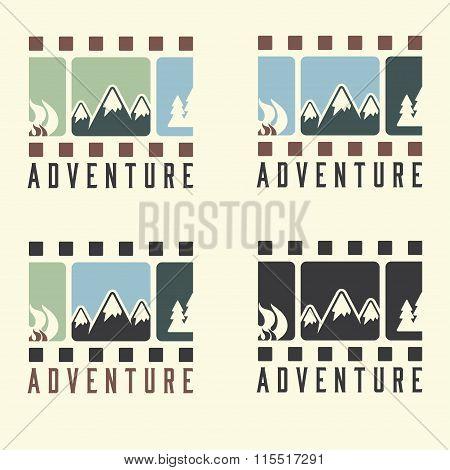 Adventure Film Tape Vintage Set