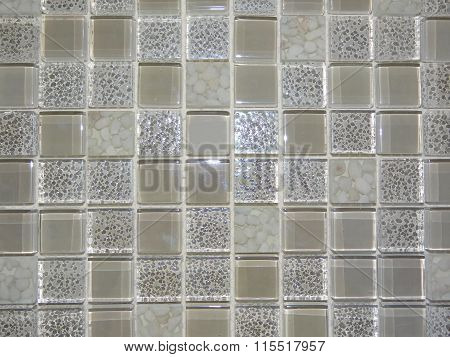 mosaic of glass