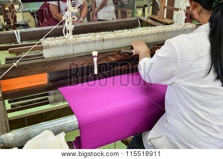 Hand-woven Silk