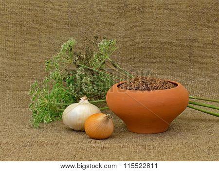 Buckwheat And Onion