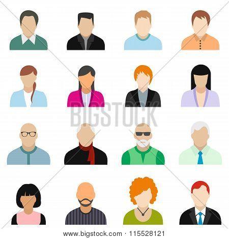 Characters icons. Characters icons set. Characters icons collection. Characters icons flat. Characters icons vector. Characters icons art. Characters icons pictures. Characters icons shape
