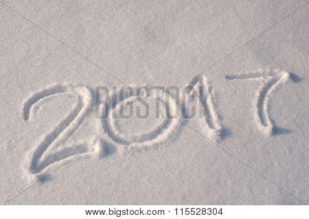 2017 Written In Snow