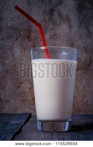 Delicious Yogurt In A Glass