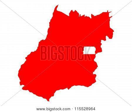 Map Of Goias