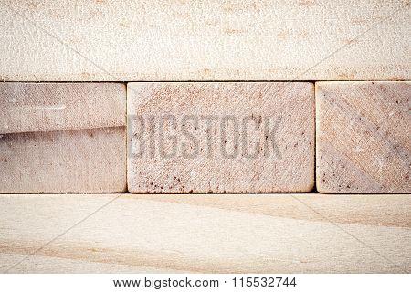 Wooden Blocks Tower Texture