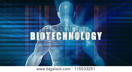 Biotechnology as a Futuristic Concept Abstract Background