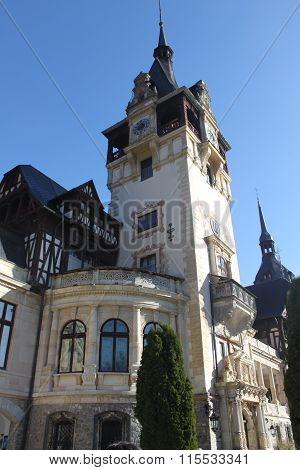 Peles Castle and Museum from Sinaia, Romania