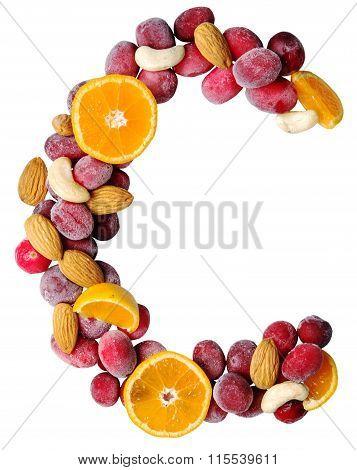 Fruit Letter C