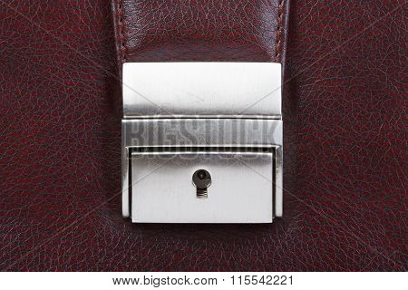 Lock with keyhole