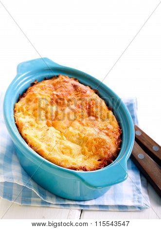 Cauliflower And Cheese Gratin