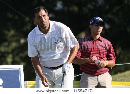 Ricardo Gonzales At The Golf French Open 2015
